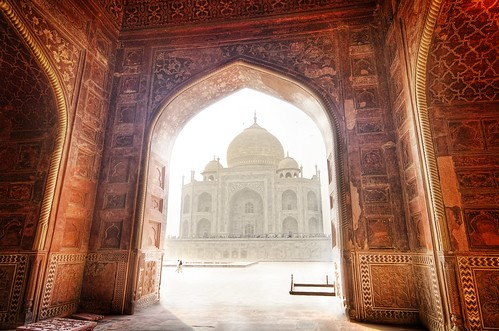 The Taj, Framed
