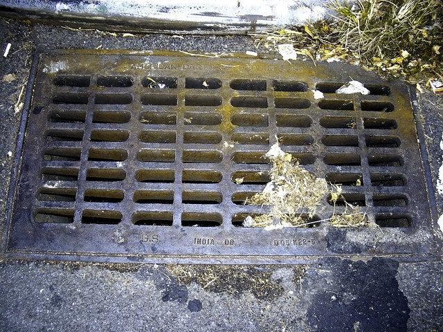 1 Point Safety >> American Cast Iron Products Storm Sewer Grate -- Made In I ...