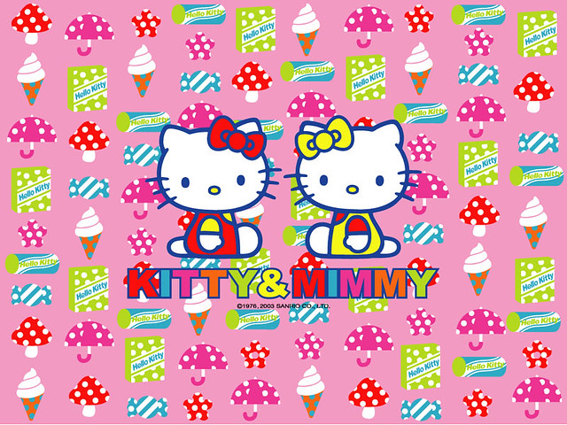 Hello Kitty and Twin Sister Mimmy | Flickr - Photo Sharing!