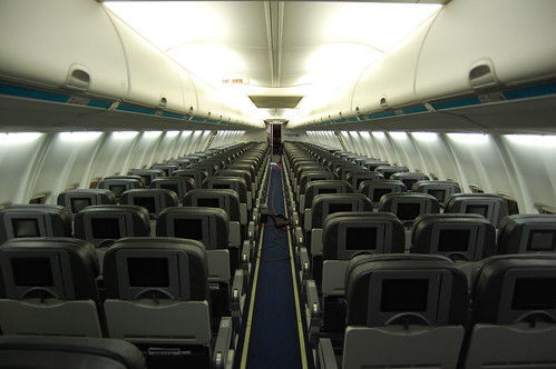 Westjet for Avion air transat interieur