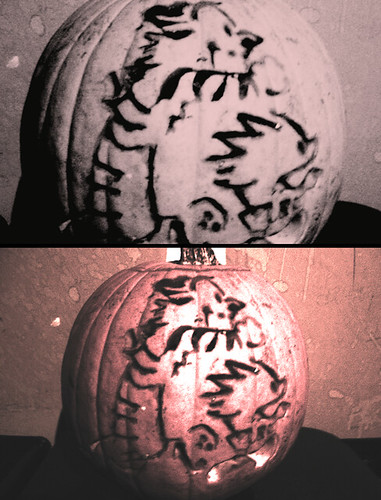 calvin and hobbes pumpkin