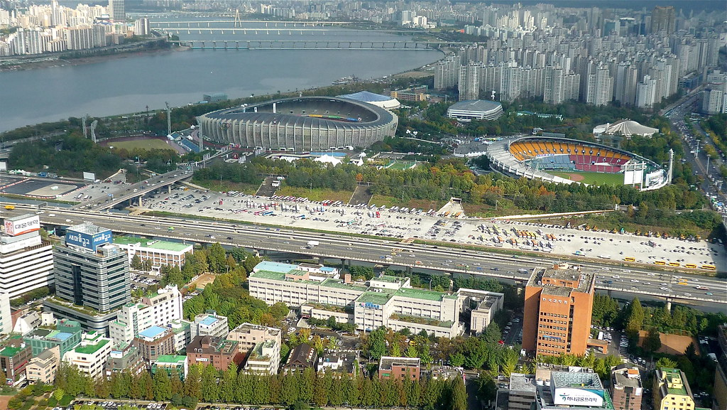 A Fun Place To See In South Korea Olympic Stadium Photos Places Boomsbeat