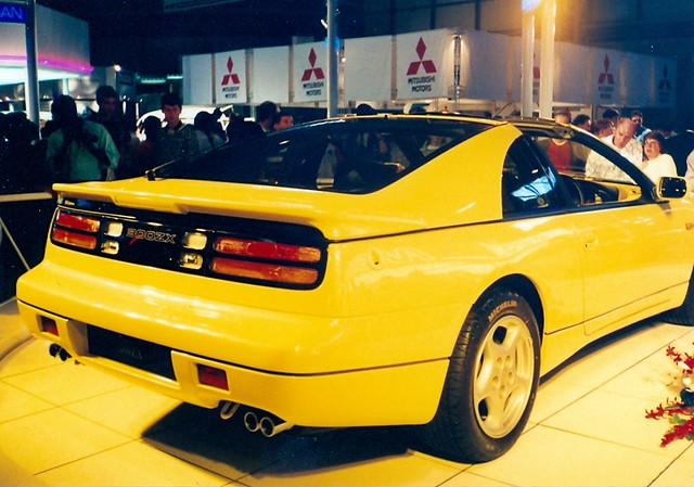 saw this 1991 model nissan 300zx on display at the n e c  birmingham at the british international motor