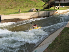 canoe(0.0), canoe slalom(0.0), canoeing(0.0), water(1.0), vehicle(1.0), sports(1.0), rapid(1.0), river(1.0), kayak(1.0), boating(1.0), extreme sport(1.0), water sport(1.0), kayaking(1.0), watercraft(1.0), boat(1.0), raft(1.0), waterway(1.0), paddle(1.0),