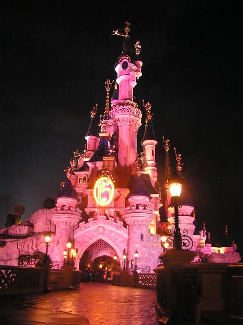 Castle of Cinderella @ Euro Disney Paris