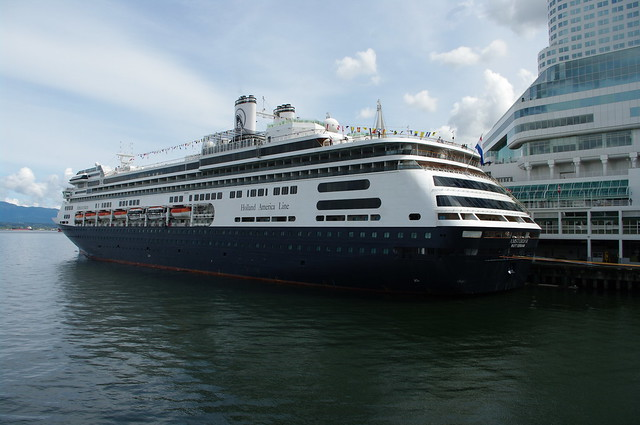 Holland America MS AMSTERDAM At Canada Place Vancouver