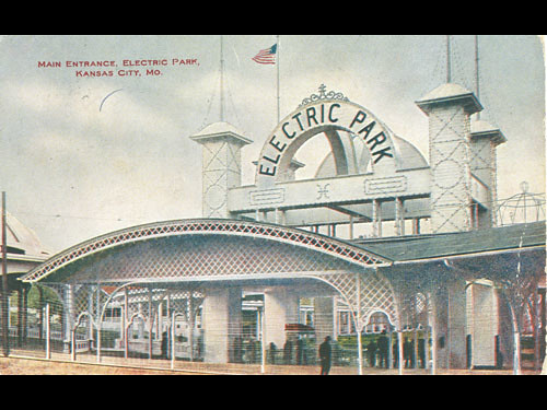 Electric Park Entrance Ca 1910 Flickr Photo Sharing
