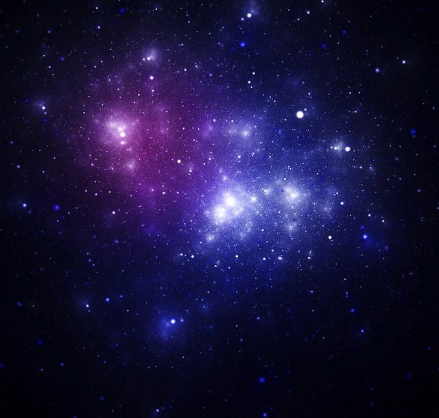 blue and purple nebula - photo #5