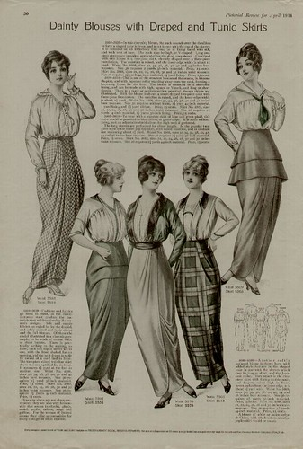 1914 blouses