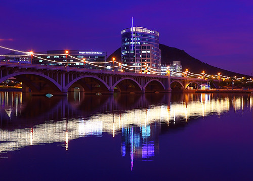 Mill Avenue Bridge Tempe AZ