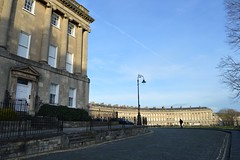 Royal Crescent from west
