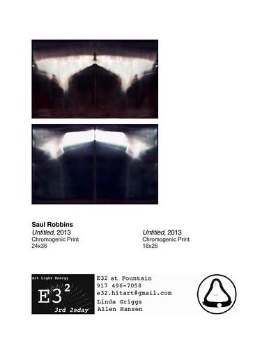 Saul Robbins binder page