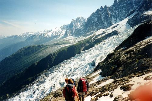 Ascension du Mont-Blanc : Jour 3 Redescente des Grands Mulets à Chamonix