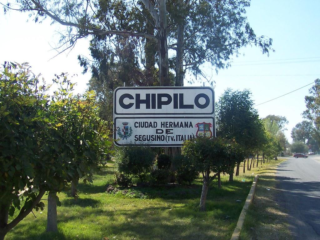 Vista de un letrero en las cercanías de Chipilo