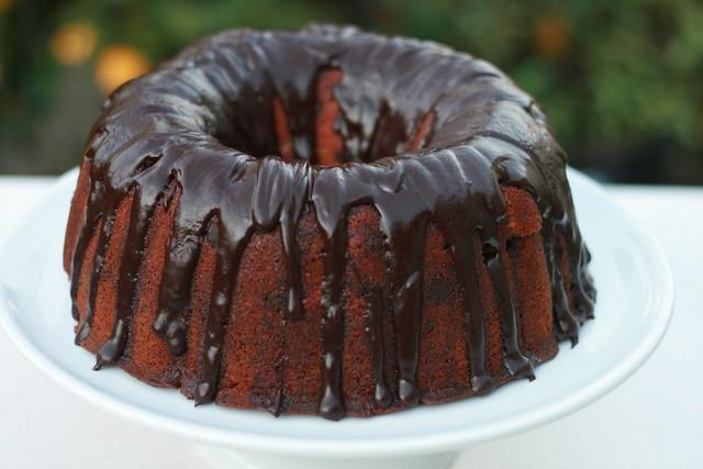 Blood Orange Chocolate Chunk Bundt Cake | Flickr - Photo Sharing!
