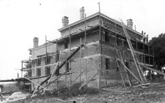 Construction of the second Leon County jail