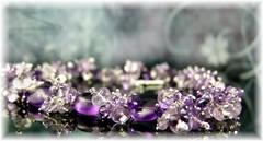flower(0.0), pink(0.0), petal(0.0), amethyst(1.0), purple(1.0), violet(1.0), lilac(1.0), jewellery(1.0), lavender(1.0), gemstone(1.0), headpiece(1.0), crystal(1.0),