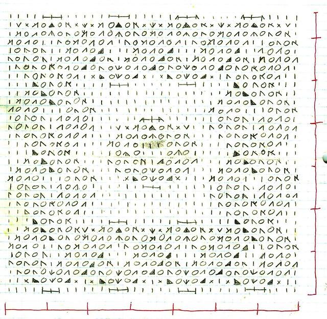 Lace knitting chart Flickr - Photo Sharing!