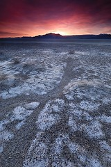Sunrise over the Black Rock Playa, Nevada