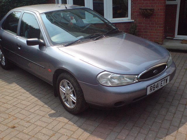 my old 1998 ford mondeo 1 8 verona flickr photo sharing. Black Bedroom Furniture Sets. Home Design Ideas