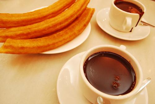 Chocolate con Porras