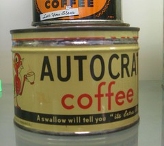 Coffee Tin by Autocrat