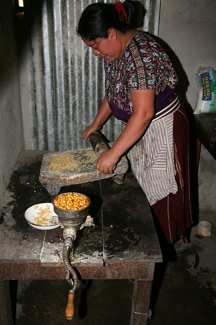 The Making of Ixil Traditional Food