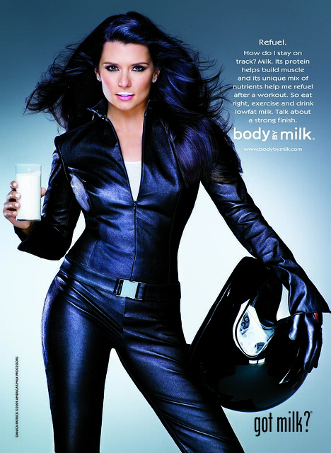 Danica Patrick Body By Milk ad