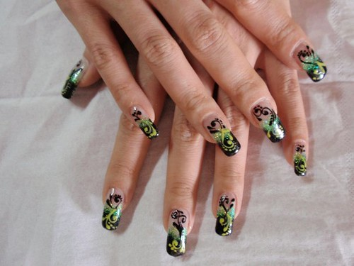 Hand Painted Nail Art Designs Pictures Nailarts Ideas