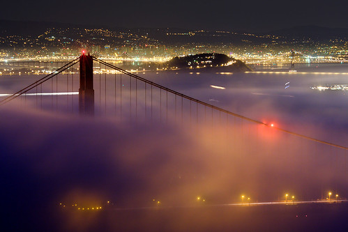 Golden Gate Bridge in the Fog (again)