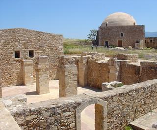 Image de Fortezza Fortress près de Rethymno. ancient ruins mosque greece crete venetian ottoman fortress rethymno fortezza dscv1 rethymnon kreeta rethimno fortrezza retymnon réthymnon rhíthymnos retymno retimno retimnon fortreza