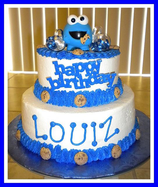 Cookie Monster Birthday Cake | Flickr - Photo Sharing!