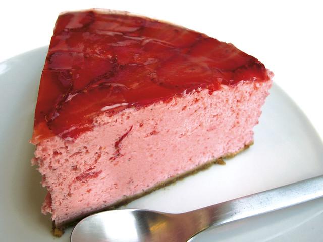 Strawberry mouse cake tarta de mousse de fresa flickr - Mousse de fresa ...