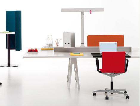 workalicious joyn desk system by vitra. Black Bedroom Furniture Sets. Home Design Ideas