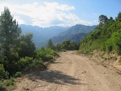 En Haut-Cavu, il y a la bonne et la mauvaise piste. La bonne piste, elle monte, ...