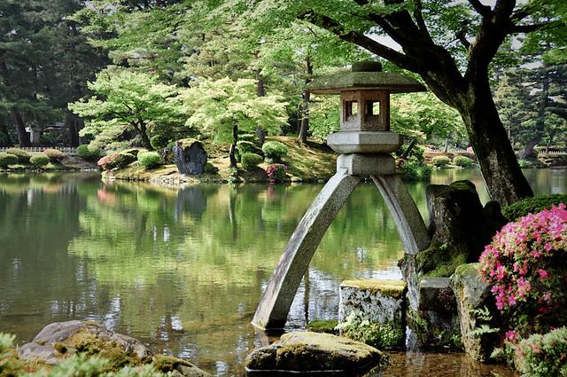 Zen Garden - Kenrokuen, Takayama, Japan