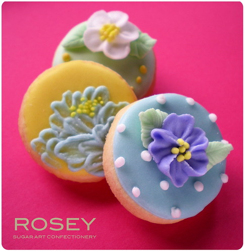 Flower cookie collection 3