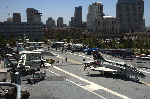 Flight Deck of the Midway