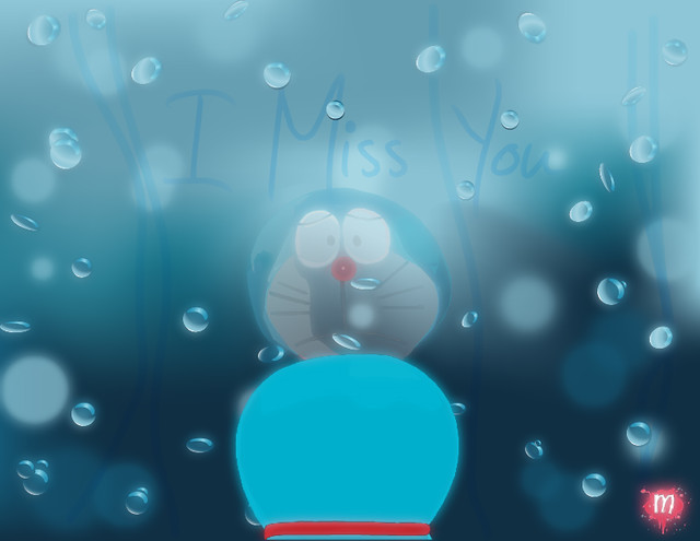 Doraemon - I Miss You | Flickr - Photo Sharing!
