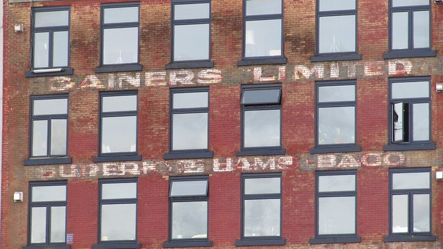 Gainers Limited Hams Baco Ghost Sign