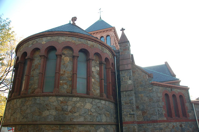 St James Episcopal Church, outside Porter Square ...