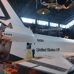 Steven F. Udvar-Hazy Center: Space Shuttle Enterprise (starboard full view, aft)