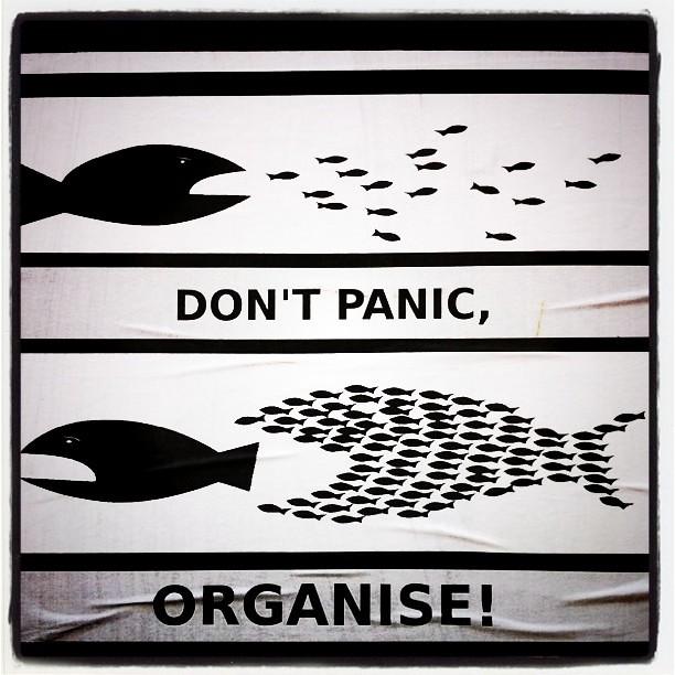NEpanikár, organizuj sa