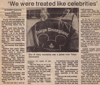 We Were Treated like celebrities