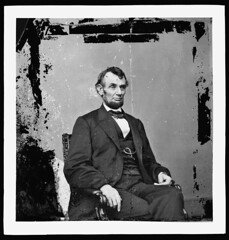 [Abraham Lincoln, U.S. President.  Seated portrait, facing right] (LOC) | by The Library of Congress