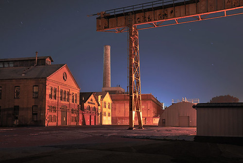 Mare Island at Night