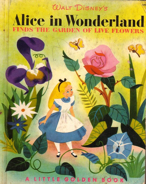 Alice In Wonderland Classic Book Cover ~ Photo