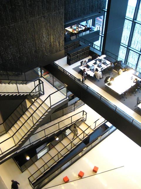 Wiel Arets- Utrecht University Library, 2004