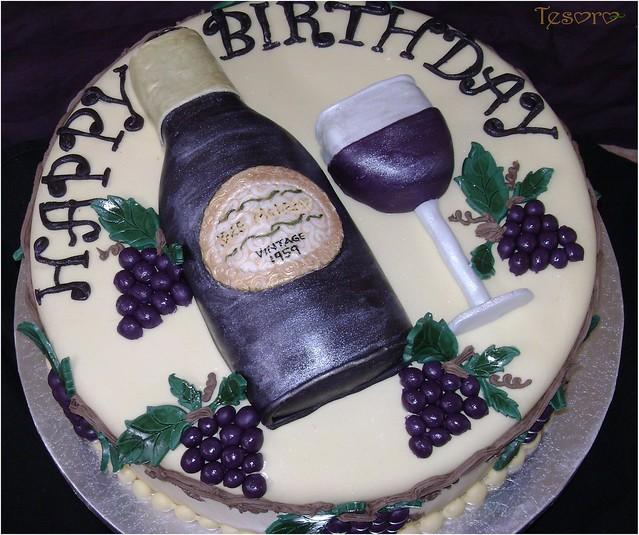 wine bottle cake Flickr - Photo Sharing!