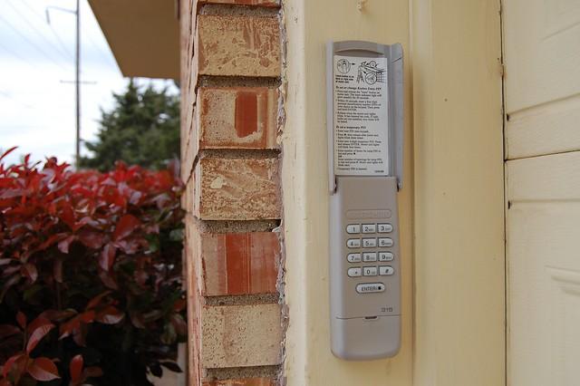 Garage Door Opener Keypads Doors